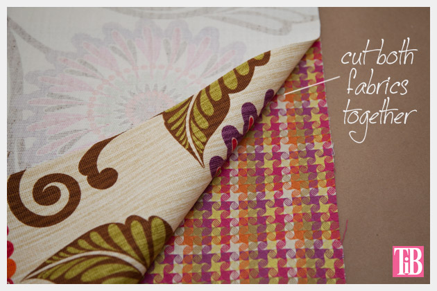 DIY Trinket Bag Cut Fabrics