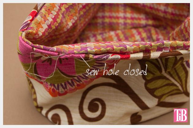 DIY Trinket Bag Hand Sewing