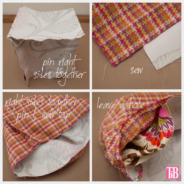 DIY Trinket Bag Pinning & Sewing