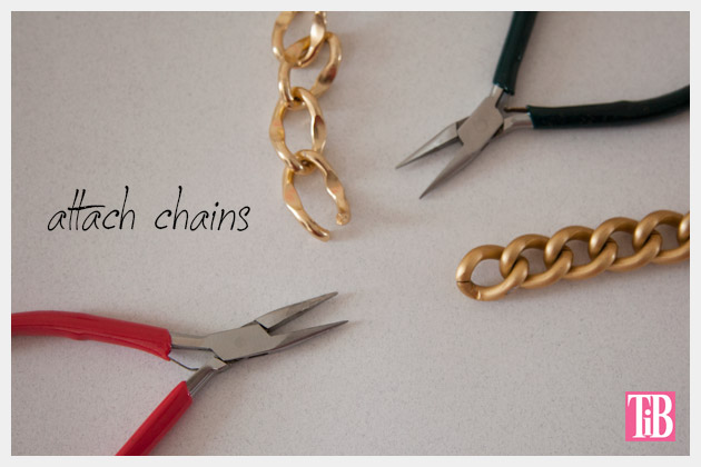 DIY Woven Chain Necklace Chains