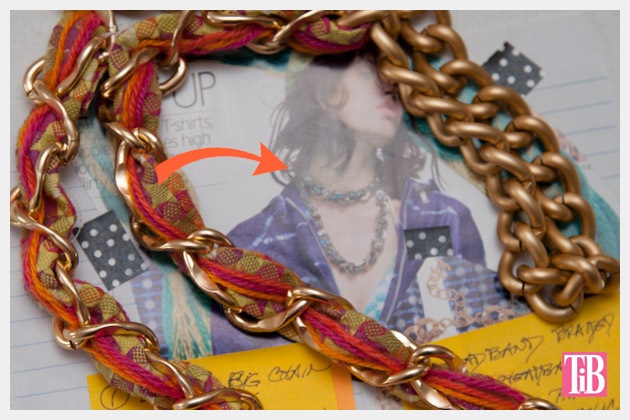 DIY Woven Chain Necklace Inspiration