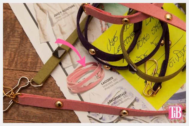 DIY Studded Bracelets Inspiration