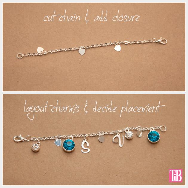 Martha Stewart Jewelry Charm Bracelet Chain