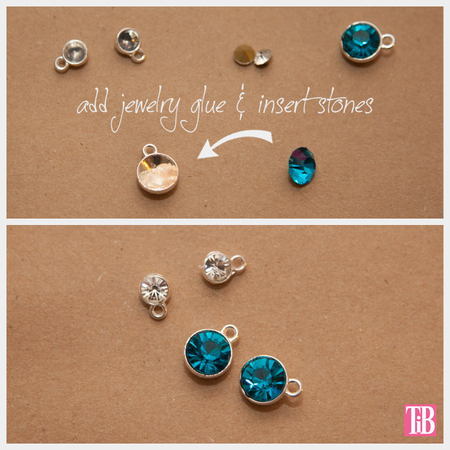 Martha Stewart Jewelry Charm Bracelet Stones