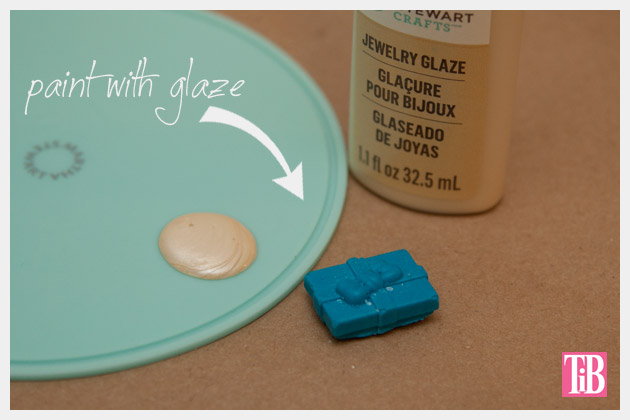 Martha Stewart Jewelry Painting with Glaze Ring