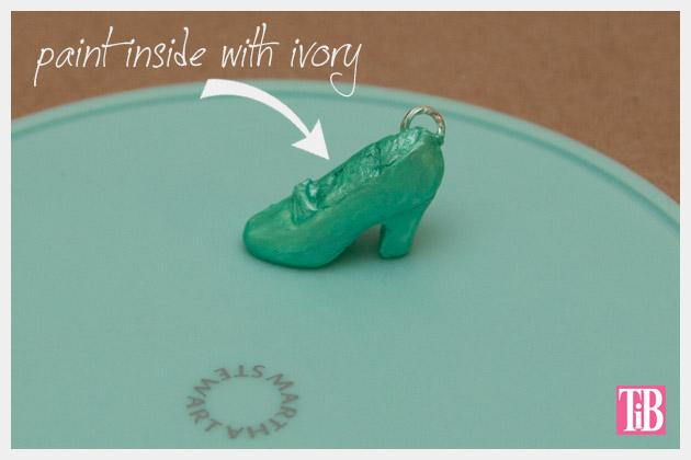 Martha Stewart Jewelry Painted Shoe Mold