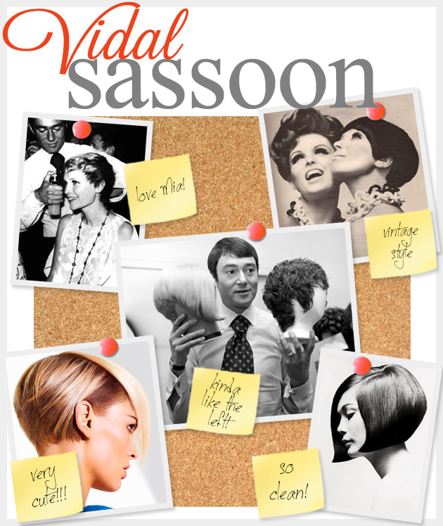 Vidal Sassoon Feature www.trinketsinbloom.com