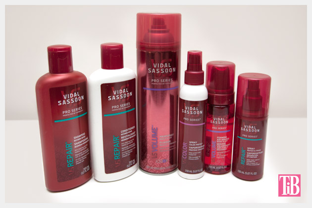 Vidal Sassoon Show Your Genius Contest Products