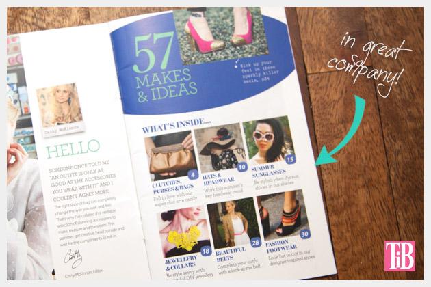 Cloth Magazine Feature DIY Index
