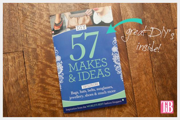 Cloth Magazine Feature DIY Mini Book
