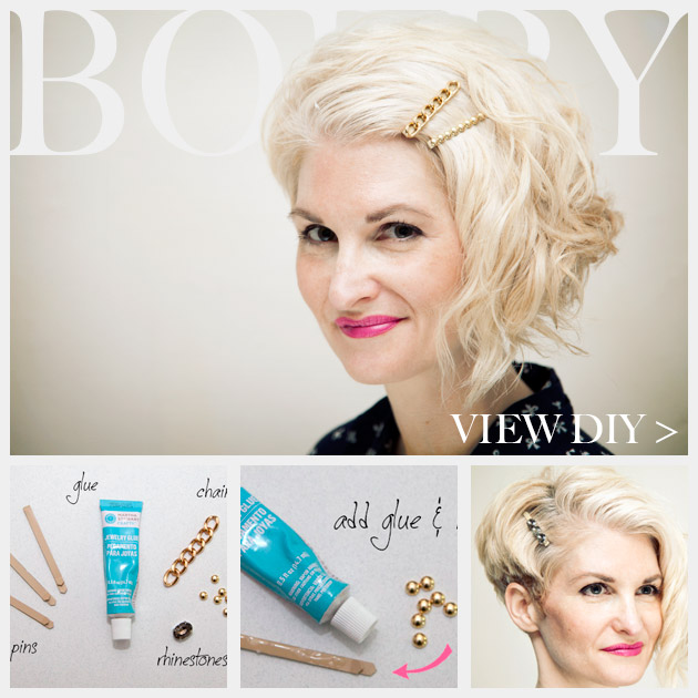 DIY Bobby Pins Photo Feature www.trinketsinbloom