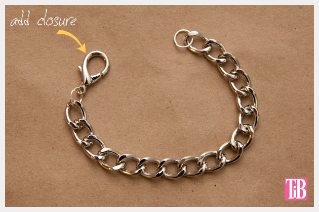 colored diy charm bracelet