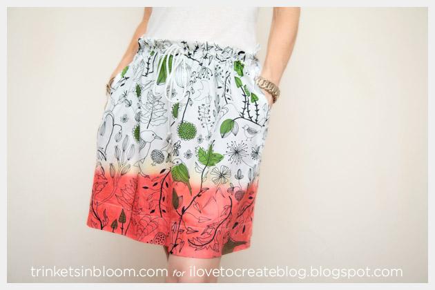 DIY Dip Dye Skirt Photo 1
