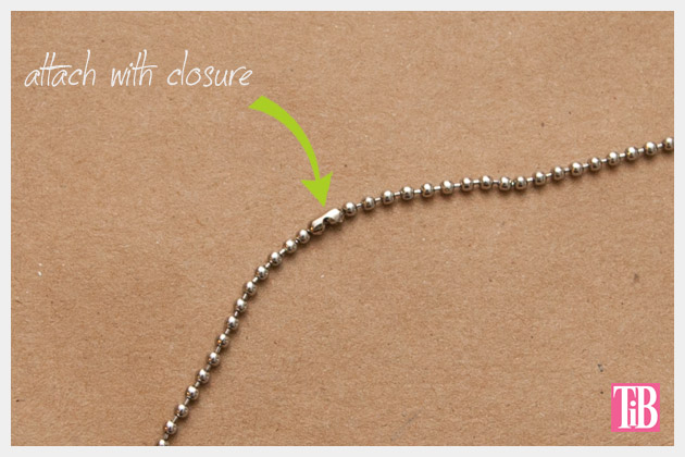 DIY Spike Necklace Closure