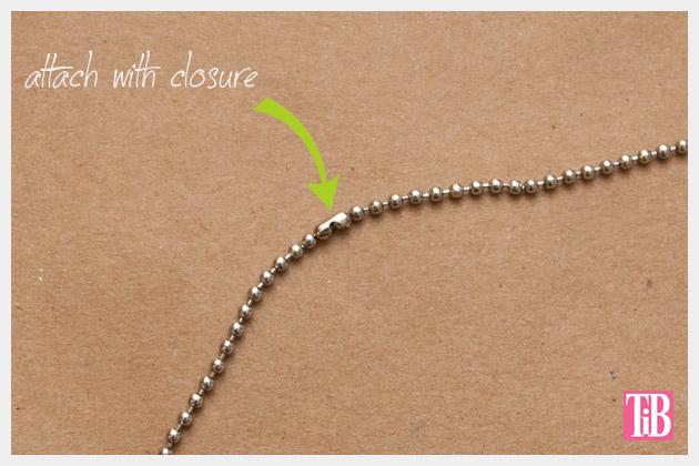 DIY Spike Necklace Closure