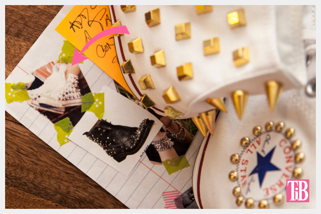 DIY Studded Converse Inspiration