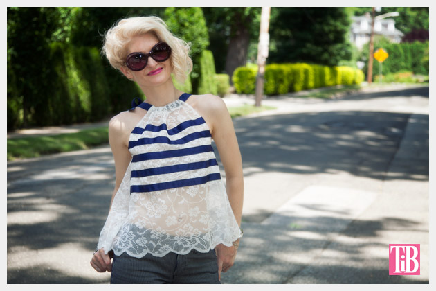DIY Lace Tank with Ribbon Photo 2