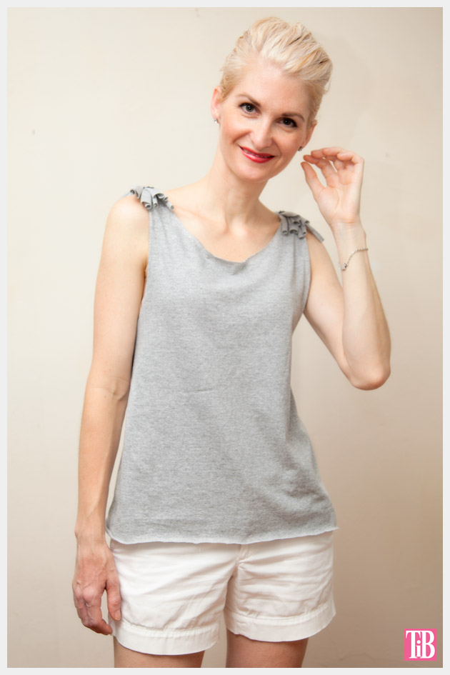 DIY Tank Top with Shoulder Fringe Photo 4