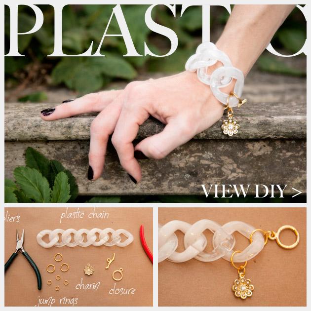 Large Plastic Chain Bracelet DIY Feature www.trinketsinbloom.com
