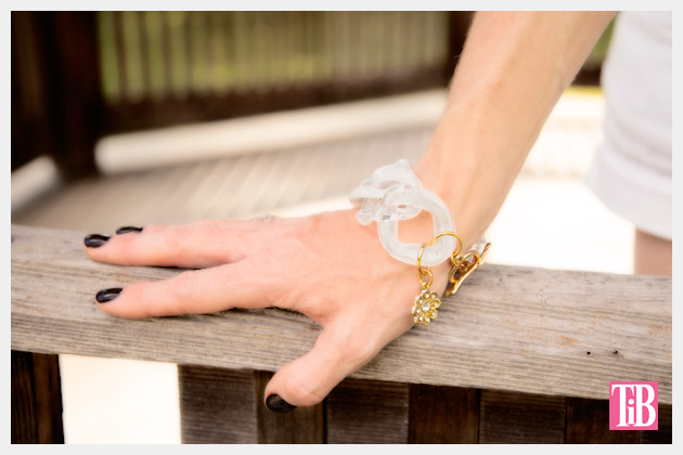 Large Plastic Chain Bracelet DIY Photo 1