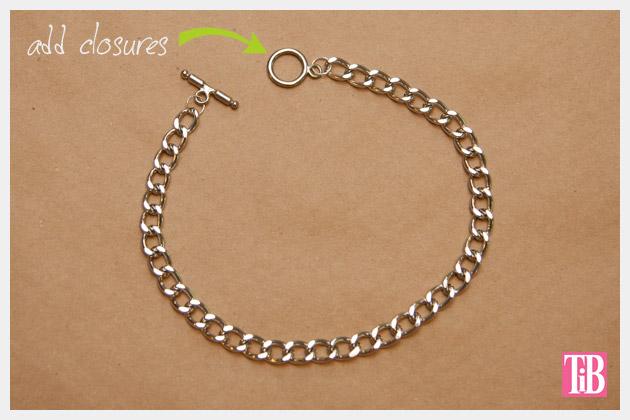 Dear Stella Fabrics DIY Woven Chain Bracelet Chain
