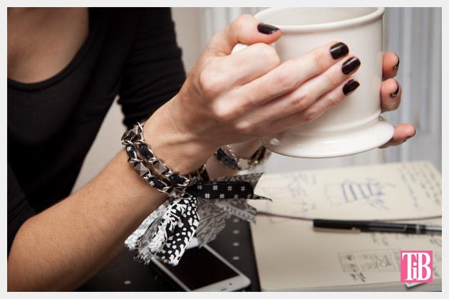 Dear Stella Fabrics DIY Woven Chain Bracelet Photo 2