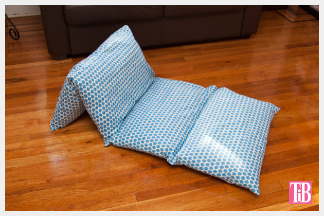 DIY Pillow Lounger Photo 1