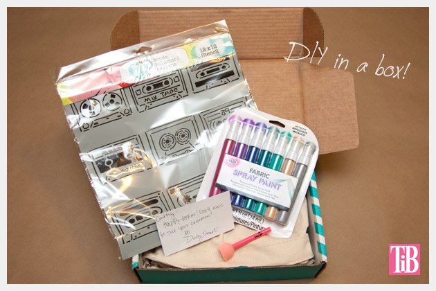 DIY Tote Bag Kit from Darby Smart Box