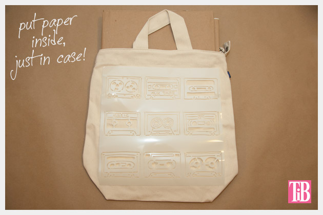 DIY Tote Bag Kit from Darby Smart Stencil