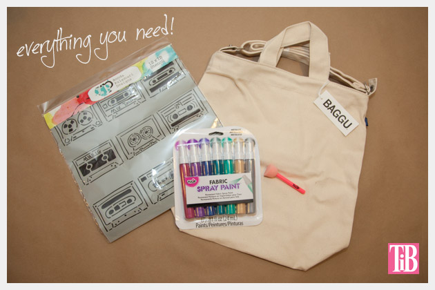 DIY Tote Bag Kit from Darby Smart Supplies