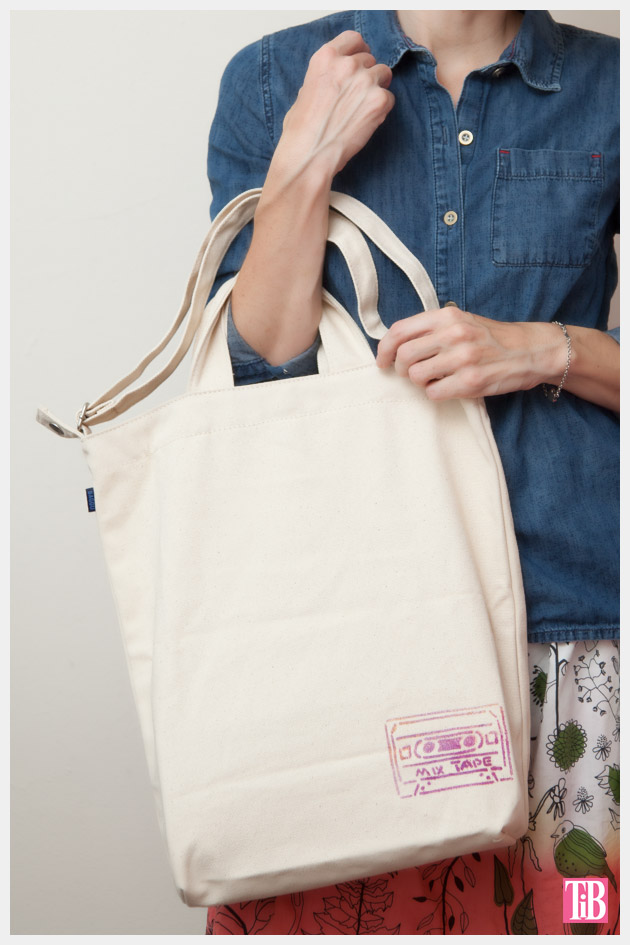 DIY Tote Bag Kit from Darby Smart Photo Back View