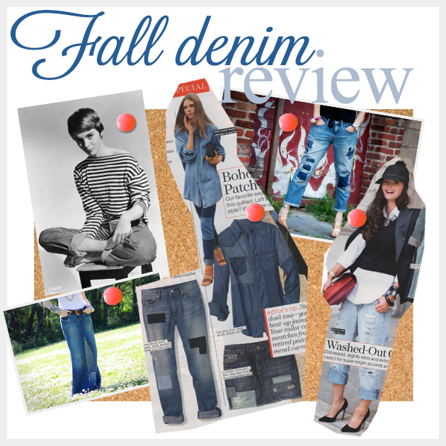 Fall Denim Review Feature www.trinketsinbloom.com