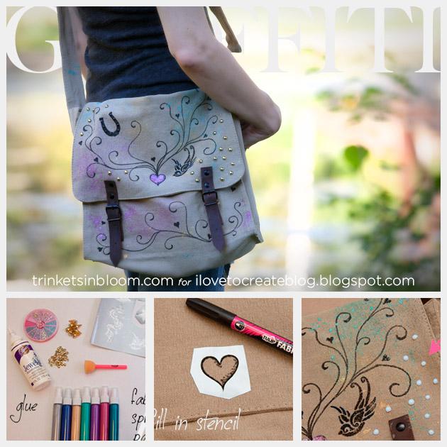 Messenger Bag DIY Feature www.trinketsinbloom.com