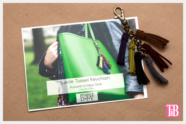 M & J Project DIY Keychain