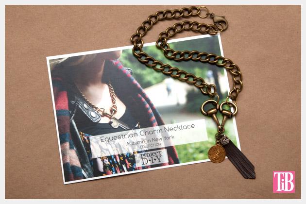 M & J Project DIY Necklace