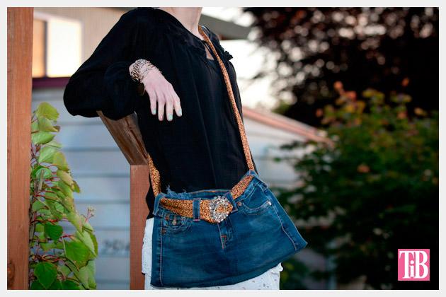 Fall Denim Review Recycled Jeans Bag DIY