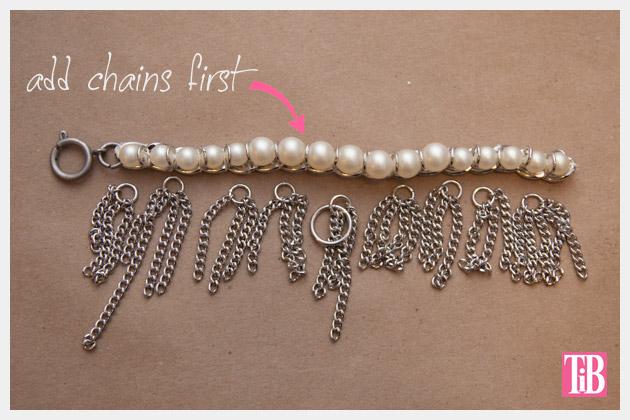 YSL Inspired Charm Bracelet DIY Adding Chains