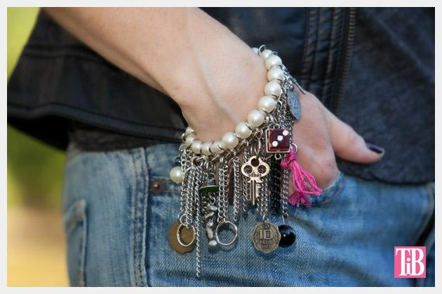 YSL Inspired Charm Bracelet DIY Photo 1