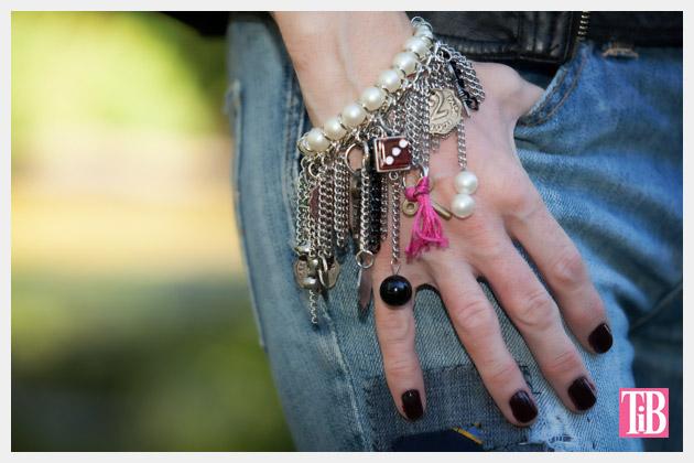 YSL Inspired Charm Bracelet DIY Photo 2