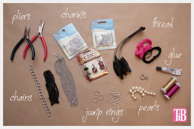 YSL Inspired Charm Bracelet DIY Supplies