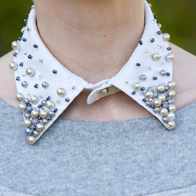 Beaded Collar DIY