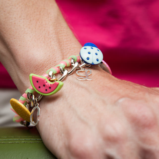 Candy Colored Diy Charm Bracelet