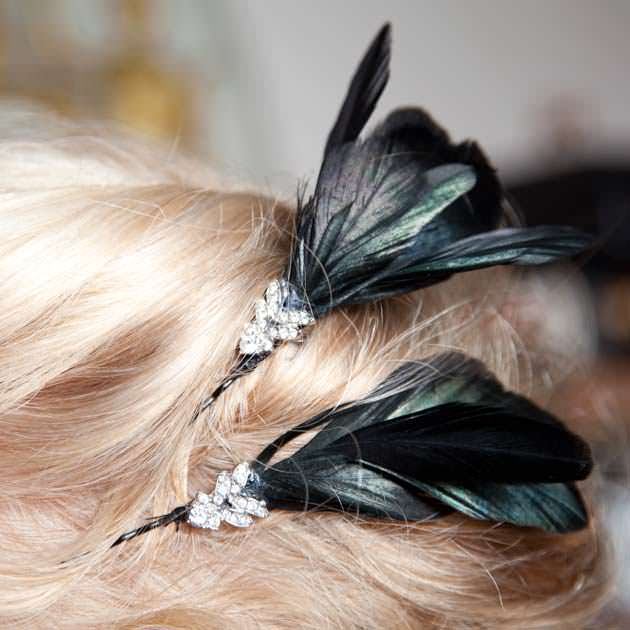 Feather Hair Pin DIY