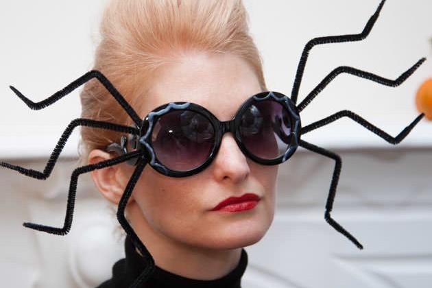 Gafas de sol de Halloween DIY