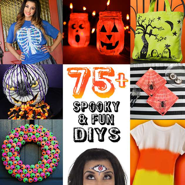 DIY Halloween Inspiration and Projects