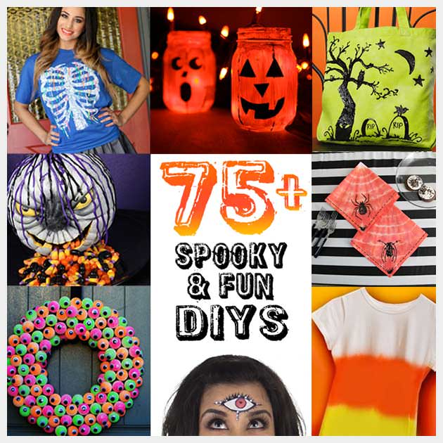 Halloween DIY Projects from www.ilovetocreate.com