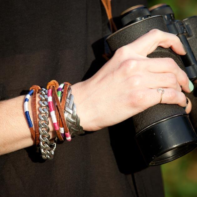 Leather Friendship Bracelets DIY