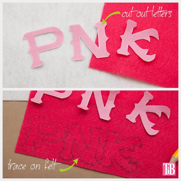 Monsters University Wreath Letters cut out and trace