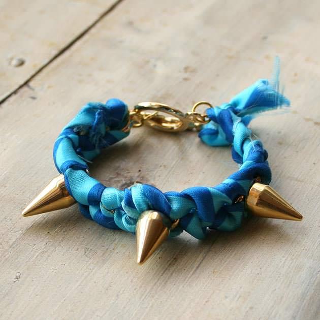 Spike Bracelet DIY