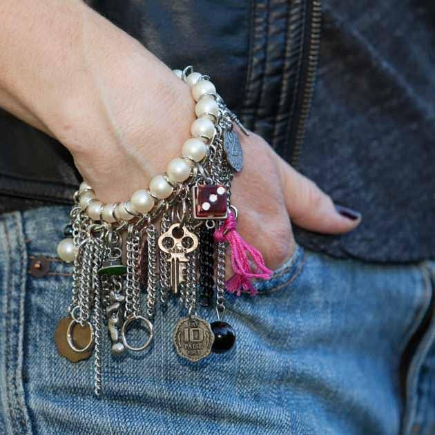 YSL Chain Charm Bracelet DIY